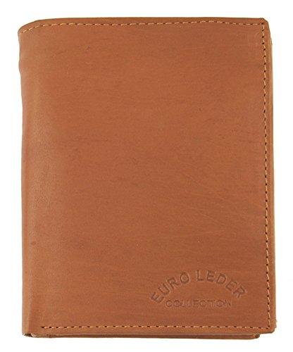 M99 Lederbörse (a TRZ35) Orange, Euro Leder Collection, Geldbörse, Damengeldbörse, Echt Leder, Kleinlederwaren