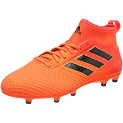 adidas Ace 73 FG, Scarpe per Allenamento Calcio Uomo, Multicolore (Solar Orange/Core Black/Solar Red), 40 EU