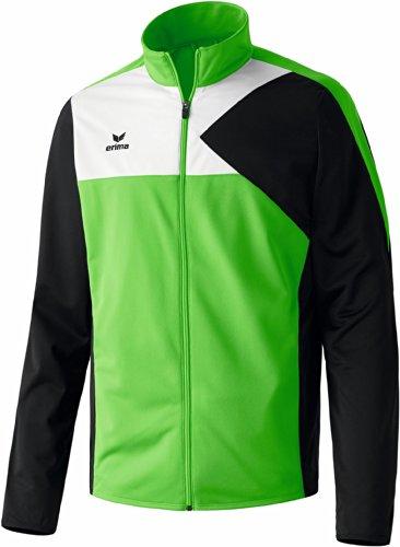erima Kinder Anzug Premium One Jacke, Green/Schwarz/Weiß, 164 Preisvergleich