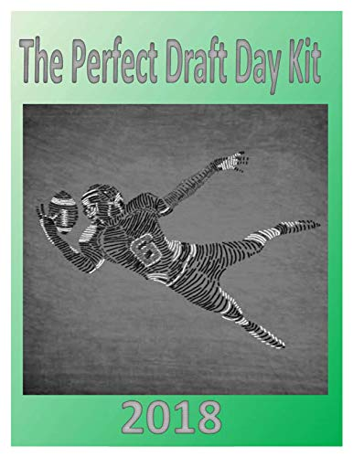 2018 The Perfect Draft Day Kit: The Best Fantasy Football Cheat Sheet Anywhere (English Edition) por Dustin Parr