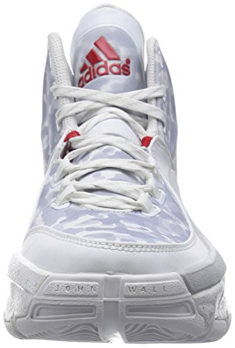 Chaussures de basket-ball ADIDAS J.Wall 2 Blanc/Rouge HOME-WHITE/RED