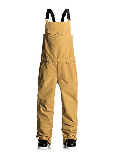 Quiksilver Found - Bib Snow Pants - Snow-Latzhose - Männer - L - Gelb