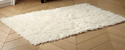 Shaggy Flokati Greek Rugs Ivory colour from Rugs & Stuff - 1500gsm - 4 sizes available