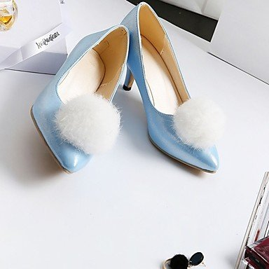pwne Les Talons Des Femmes Printemps ¨¦t¨¦ Automne Hiver Nouveaut¨¦ Confort Similicuir Pu Bureau Mariage &Amp?; Partie De Carri¨¨re &Amp?; Tenue De Soir¨¦e Talon Occasionnels US2.5 / EU34 / UK1.5 Little Kids