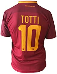 Camiseta de fútbol Roma Francesco Totti 10Réplica Autorizados 2017–2018Niños Niño Hombres