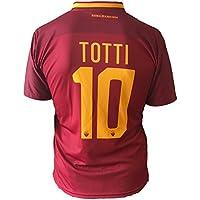 Maillot football Roms Francesco Totti 10réplique autorisierte 2017–2018enfants jeunes hommes
