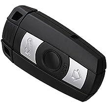 MagiDeal 1x Llave de Coche Sin Cortar Control Remoto Clave Fob para Entrada 3 Botónes de 868MHz para BMW X5 X6 Serie Z4 1 3 5 6