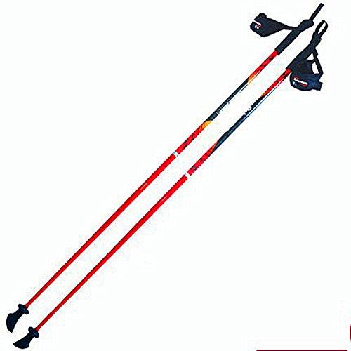 YAXIAO Nordic Walking Stöcke, Trekkingstöcke, Gehstöcke, Spazierstöcke, Glasfaser, Superleicht, Paar Stöcke Trekkingstock-