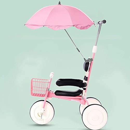 Triciclo 4 Ruedas niños 2 1 niños Padres extraíbles