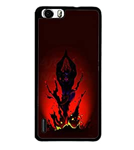 printtech Lord Shiva Tandava Back Case Cover for Huawei Honor 6 Plus