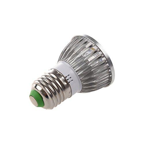 TOOGOO(R) 4 * 1W 85-265V E27 Warm White LED Light Lamp Bulb Spotlight Test
