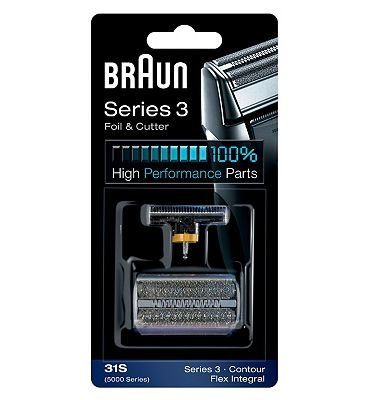 Braun Electric Shaver Foil and Cutter Replacement Part 31S