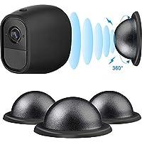 Metall Magnethalterung Kamera Sicherheit Decke/ Tisch/ Wandhalterung für Arlo, Arlo GO, Arlo Pro, Arlo Pro 2, 3 Packung (Schwarz)