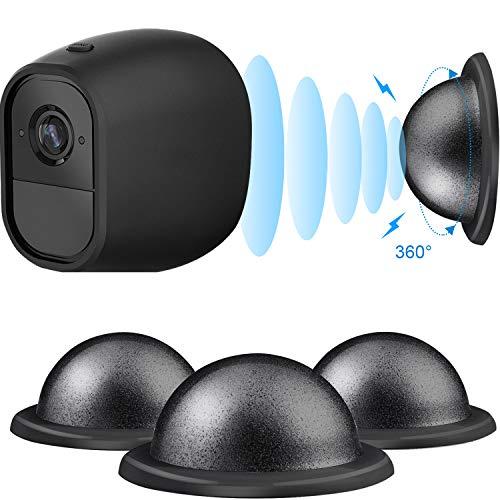 Metall Magnethalterung Kamera Sicherheit Decke/ Tisch/ Wandhalterung für Arlo, Arlo Pro, Arlo Pro 2, 3 Packung (Schwarz)