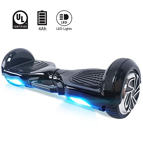 Windgoo Hoverboard 6.5'Smart Self Balance Scooter Skateboard autobalanceado con Motor 2 * 350W, LED, Scooter eléctrico
