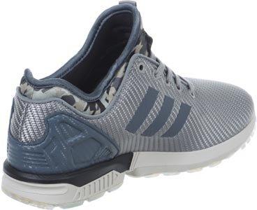 adidas Zx Flux, chaussure de sport femme gris bleu
