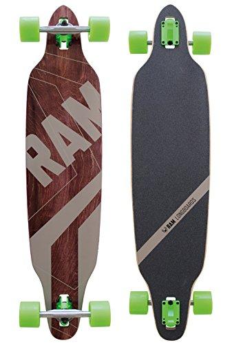 Ram Pin Stripes Longboard 2014 Blackbrowngreen