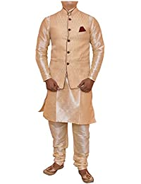Modern Garments Kurta Churidhar with Waistcoat