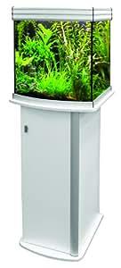 Aquatlantis - Aquarium + Meuble - Colonne Evasion Horizon 75 - Blanc