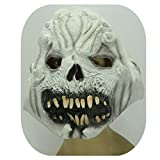 Latexmasken Halloween Nachtclubs Karneval Weiße Gesichter Maske