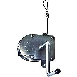 Schneider Kurbel mit 3 m Stahlseil Schwenkgrill Schwenker