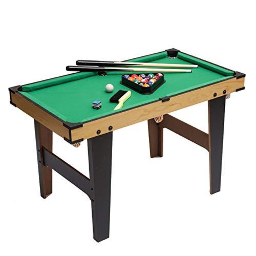 Tavoli da Biliardo Tavolo da Biliardo Tavolo da Gioco per Bambini Mini Puzzle Tavolo da Gioco in Legno Tavolo da Biliardo per Bambini di Grandi Dimensioni (Color : Green, Size : 80 * 43 * 60cm)