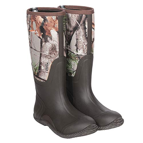This HISEA Neoprene Wellington Boots are ideal for the wilderness and they cost very little to buy making them a good budget pick.