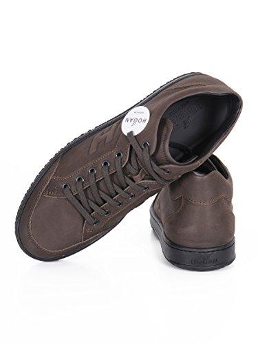 Hogan, Chaussures basses pour Homme Marron
