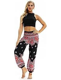 Pantalones De HaréN De La India Danza Pantalones De Yoga Pantalones Hippie Boho