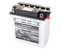 12V 9Ah Batterie CB9-B für RS 125, Cagiva Mito, ET4, NRG MC3 Sfera Roller