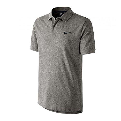 Nike Herren Poloshirt Matchup, Farbe Schwarz/Weiß, Größe XXL Small Grigio/Nero Preisvergleich