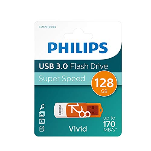 Philips usb flash drive vivid edition 128gb, usb3.0