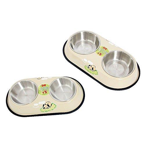PAWZ Road, Doppel-Fressnapf für Hunde und Katzen – in zwei Größen erhältlich - 2