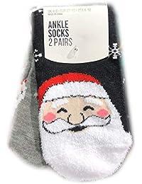 Primark - Calcetines de Navidad para Mujer (Tallas 34 a 42)