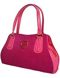 Hbos Ladies Handbag (Pink,bag 65)