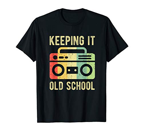 0er Jahre 90er Jahre Boombox Retro Musik ()
