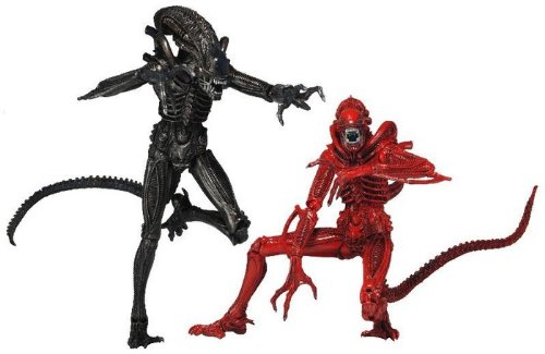 NECA 51395 - Pack 2 Figuras Alien Genocide (18 cm) 1