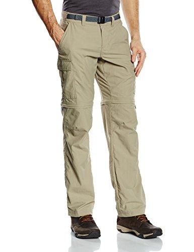 Columbia, pantaloni da escursione, da uomo, convertibili, Cascades Ocra