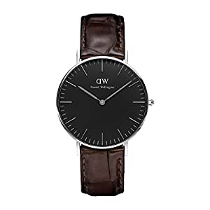 Daniel Wellington Classic Damen-Armbanduhr Analog Quarz Leder - DW00100146
