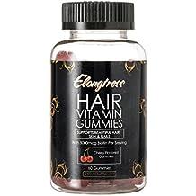 Elongtress gomoso pelo suplemento de la vitamina de la piel y el cabello uñas gominolas -