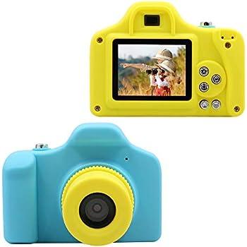 7f493523d4 1080P Fotocamere Digitali per Bambini con Scheda SD 16 GB, Mini Macchina  Fotografica Bambini Portatile Telecamera per Bambini Mini Fotocamera  Videocamera ...