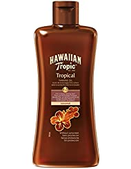 Hawaiian Tropic Tanning Oil ohne LSF, 200 ml