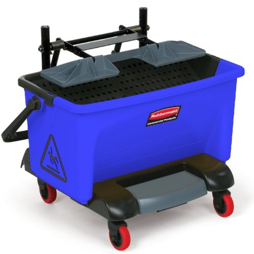 rubbermaid-wischwagen-blau-reinigungswagen-putzwagen-fahrwagen-putz-wisch-eimer