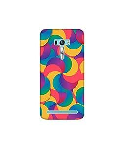 Kolor Edge Printed Back Cover for Asus Zenfone Selfie - Multicolor (4400-Ke10134ZenSelfieSub)