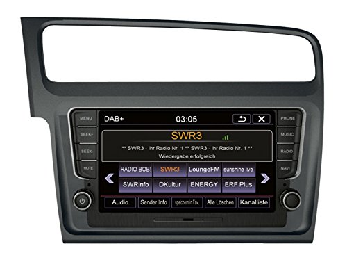 "Preisvergleich Produktbild 'ESX VN810vw-g7-dab Fixed 8""LCD Touchscreen Black, Silver Navigator–Navigators (20.3cm (8), 800x 480Pixel, LCD, Flash, SD, 4GB)"