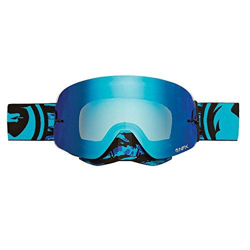 Dragon NFX Frenzy Sportmaske, Stahl, Blau