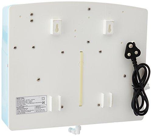 KENT Ultra Wall-Mountable UV Water Purifier, 60 L/hr Purification capacity, White