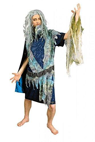 Wassermann Neptun Wassermannkostüm Atlantis Herrengröße von 46 bis 60 (Atlantis Kostüme)