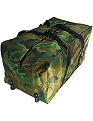 Sac extra grand chariot XXL sport de 140 litres, Valise Gym, voyage, camping