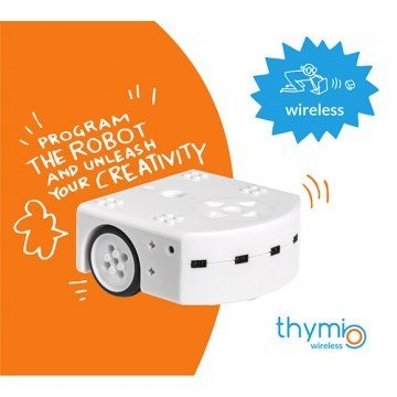 Thymio II Wireless - Robot éducatif open source 7640164630021